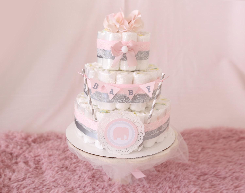 Pink Baby Shower Cake Ideas