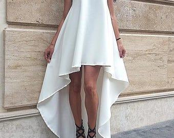 New Extravagant Maxi Dress / High Quality/Asymmetric Maxi Dress 2017