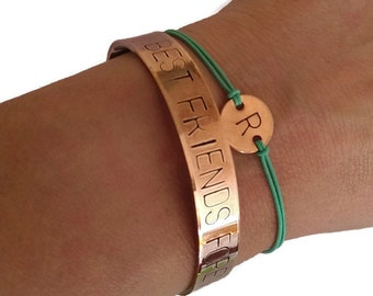 Bracelet with initial | customized