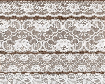 White Lace Clipart, Vintage Lace borders clip art scrapbook embellishments, png lace png clipart digital instant download commercial use