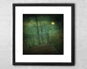 Wanderer - Fine Art Photography - Surreal Art - Nature Photography - Woodland Prints - Forest Print - Forest Photography - Forest Wall Art