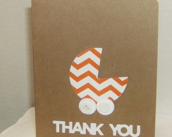 Thank You  Baby Cards,  Thank You Cards, Baby Shower, Newborn, Congrats, Baby Cards, new Baby, Baby Boy Cards