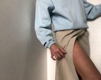 Vintage Jansport Faded Dusty blue Pullover
