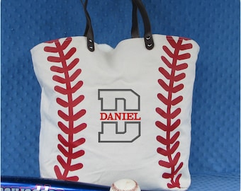 Baseball Tote, Baseball Mom, Baseball Tote Bag, Baseball Mom Bag, Custom Baseball Gift, Team Mom Gift, Baseball Mom Tote, Baseball Fan
