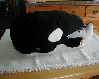 TY Whale TIDE pillow pal vintage TY product.