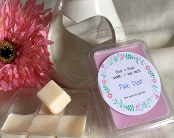 Pixie Dust, Soy wax melts, Natural wax, Uk, Highly scented,