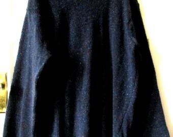 Men's Merino Wool Sweater Made in Ireland, XXL