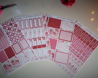 Planner sticker for the vertical ECLP