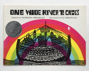 Ed Emberley Illustrated One Wide River to Cross, Adapted by Barbara Emberley ~ Gorgeous woodcuts, a counting story about Noah's Ark