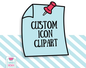 Custom Icon, Clipart and Vector, Discount codes not applicable