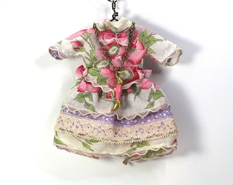 Blythe Doll Pullip Dress Hanky Pink Purple