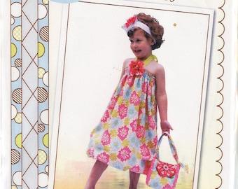 Sundress Pattern / Headband pattern / Handbag Pattern / Little Miss Sassyfrass Pattern / Easy Pattern / Little Londyn Patterns