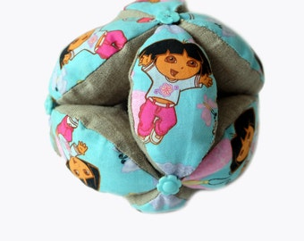 Montessori baby Toy - Montessori Ball - Baby Clutch Ball - Toddler Learning Toy - Baby Toy Ball - Dora ball