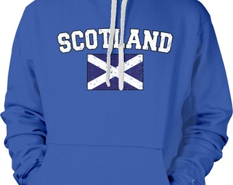 Scozia Con La Bandiera Saltire Felpa 0RZ5B5qEKZ