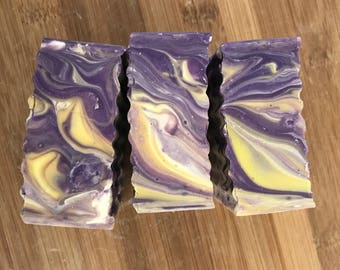 Luxury Lavender Tea Tree Soap-Guest Soap-Cold Process Soap