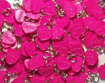 Pink Barbie--25 Charms --Jewelry---Media Art
