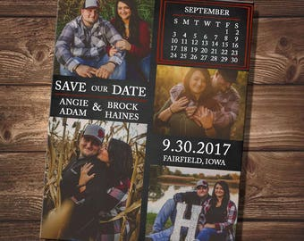 Save Our Date With Calendar