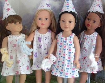 Summer Slumber Birthday Party Favors for American Girl