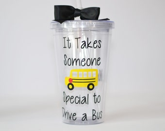 Bus Driver Gift - It Takes Someone Special to Drive a Bus - Personalized