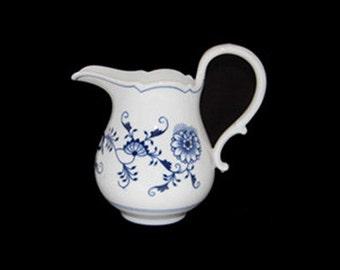 Vintage Meissen Thun Klosterle Form Blue Onion Pitcher/Jug