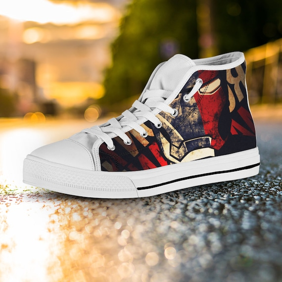 Man High Thanos Shoes Thor Marvel Iron Converse Top War Shoes Shoes Hulk Avengers Custom Captain Thanos Shoes America Infinity zzwZrpq