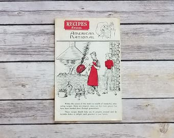 Recipes From American National Insurance Company American Style Cooking 1960s Cookbook USA Cooking Vintage Recipes Hungarian Cabbage Meal