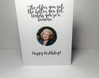 Birthday Card Cheeky Golden Girls - Rose