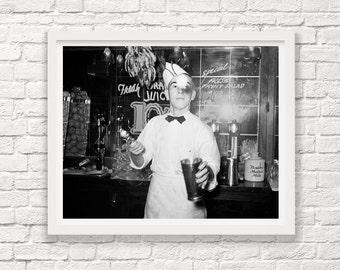 Ice Cream Parlor - Corpus Christi Texas - 1939 - Malt Shakes - Milk Shake - Ice Cream Art - Ice Cream Photograph - Soda Shop - Russell Lee