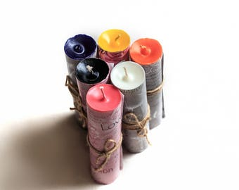Paraffin Pillar Play Candle. Wax Play. Candles BDSM. Sex Toy. bdsm candle. Low temp candle. Bondage candle. Wax Play Candle. Bondage.