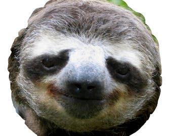 Sloth ROUND Cushion