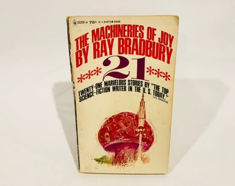 Vintage Sci Fi Book The Machineries of Joy by Ray Bradbury 1965 Paperback Anthology