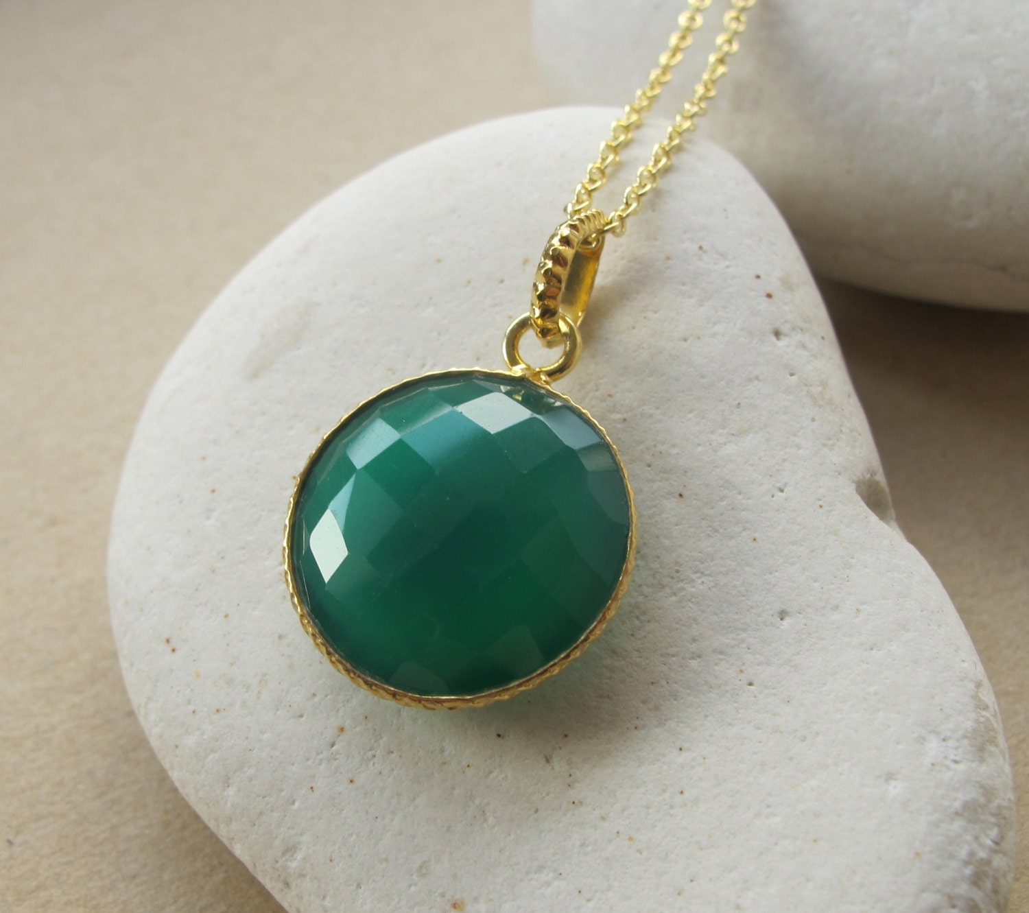 zircon and pin pernia shop available s gold at plated necklace green onyx pop up only