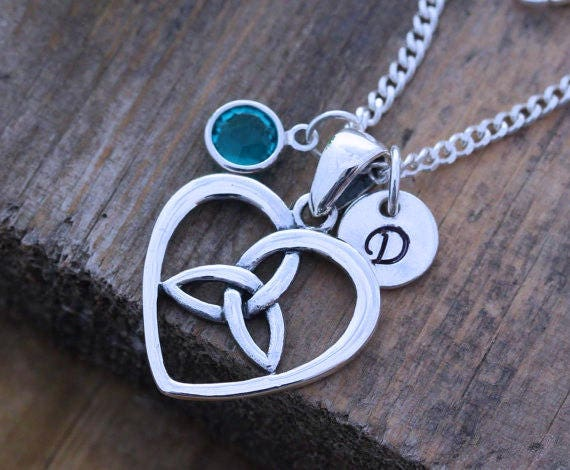 Celtic Everlasting Love Necklace Famous Necklace 2018