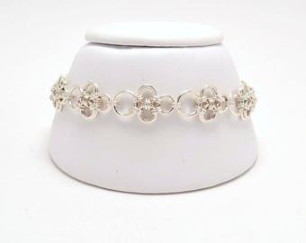 Japanese Bracelet in Sterling Silver