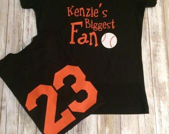 Baseball Spirit Wear, T-Ball Spirit Wear, Softball Spirit Wear, Spirit Wear for Little League Teams, Personalized Spirit Wear