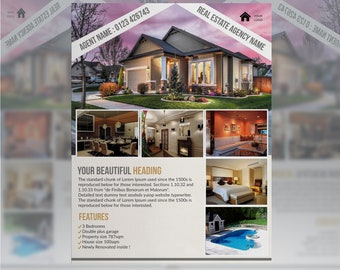 Real Estate Flyer,Open House