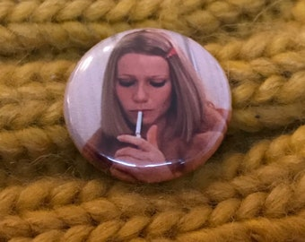 Wes Anderson - The Royal Tenenbaums - Margot Tenenbaum Badge