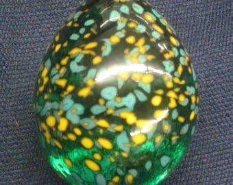 Solid Glass Easter Egg  Handmade,  Tazza Glass