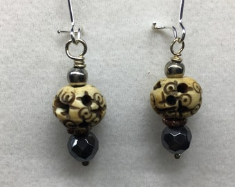 Carved Charisma Earrings