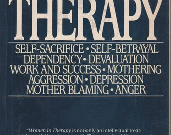 Women in Therapy (Softcover, Self-Help, Women's Studies, Psychology) 1989