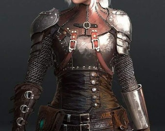 Ciri of Cintra Armor Theatrical Quality Costume