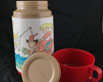 1994 Aladdin Inspector Gadget Thermos. Complete!