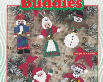 Jingle Bell Buddies, House of White Birches Plastic Canvas Pattern Booklet 181029