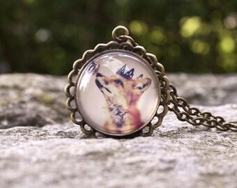Little Prince, Wearable Art Pendant