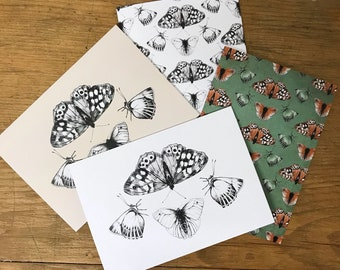 Butterflies - Set of 4