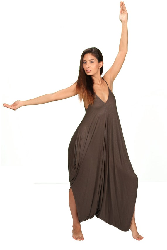 Anjali OnePiece Jumpsuit in Olive for Paramita Designs Womens Yoga Wear