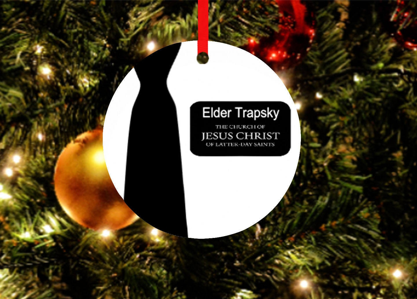 LDS Missionary OrnamentMissionary Giftlds