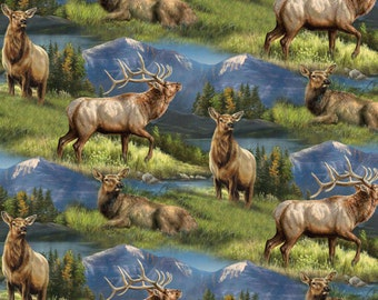 Wild Wings Elkmont Ridge Scenic Fabric From Springs Creative