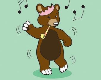 Greetings Card - DANCE!
