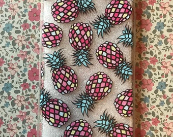 Pineapple Tropical Print Iphone Case